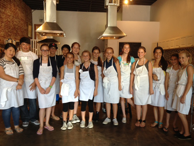 Teens cooking classes